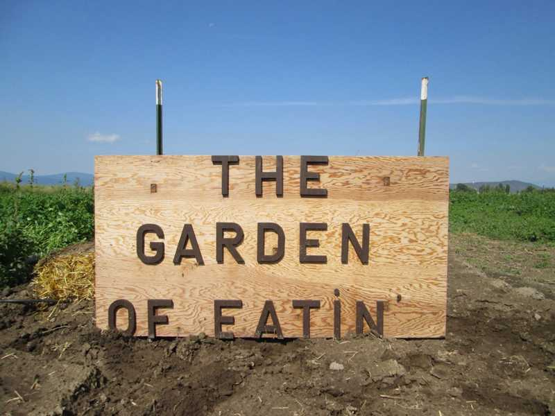 The Garden of Eatin',named by a 13 year old girl a few years ago, is a project of the Westside Community Church.