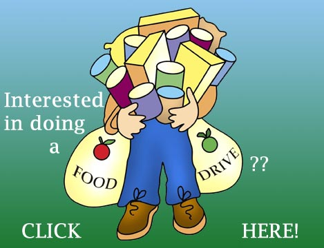 Interested in doing a food drive?  Call Niki!  541-882-1223 or 541-892-1365